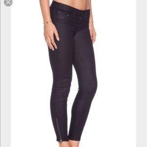 Rag and Bone Zipper Capri Jeans